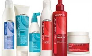 Косметика по уходу за волосами (Wella, Matrix, L'oreal)