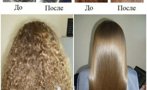 Кератиновое выпрямление волос BOMBSHELL GLOSS (Бразилия)